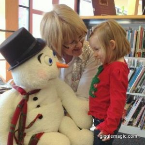 Frosty has a fun day with preschoolers!